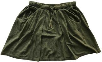 Etoile Isabel Marant Khaki Linen Skirt for Women