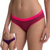 Columbia 2-pk Omni-Wick Seamless Stripe Bikini Panty RW1C402