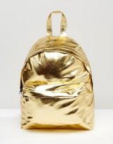 Asos Metallic Mini Backpack