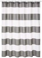 Kassatex Hampton Shower Curtain - Gray