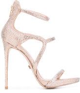 Le Silla strappy stiletto sandals - women - Suede/Leather - 37