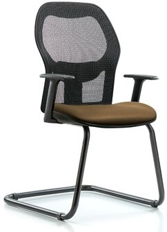"""Blue Ridge Ergonomics 24.5"""" W Vinyl Seat Waiting Room Chair with Metal Frame Seat Color: Taupe, Arms Included: No"""