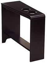 Signature Design by Ashley Ashley Furniture Signature Design Carlyle Chair Side End Table, Almost Black