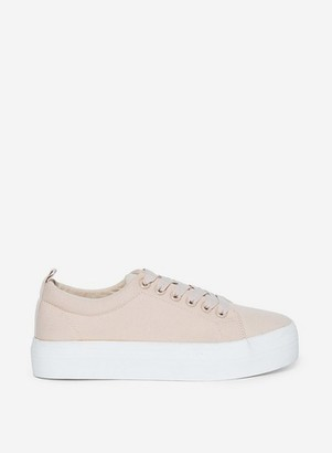 Dorothy Perkins Womens Pink 'Iyla' Trainers, Pink
