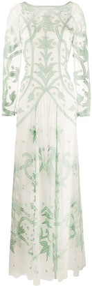 Temperley London Francine tattoo dress