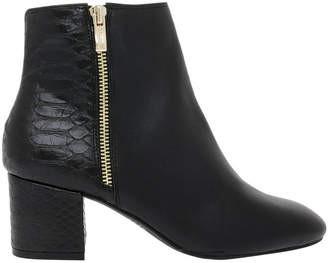 Basque Courtney Black Leather Boot