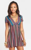 MUMU Ibiza Dress ~ Siesta Siesta Stripe Crinkle