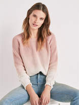Lucky Brand Dip Dye Pullover Sweater