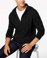 Club Room Men's Cashmere Hooded Sweater, Created for Macy's