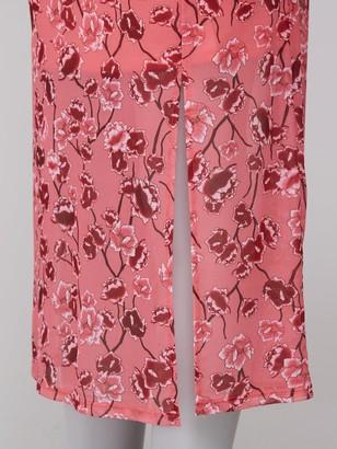 Very Mesh Midi Skirt - Pink Print