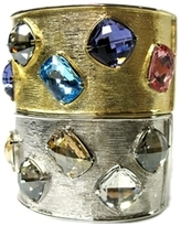 Replica Collection - Gold & Silver Jeweled Bracelets *2 Styles*