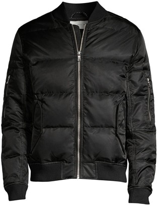 The Very Warm Vandal Quilted Bomber Jacket