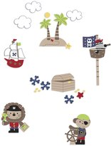 Kids Line 2506WD Wall Decals, Pirate Party