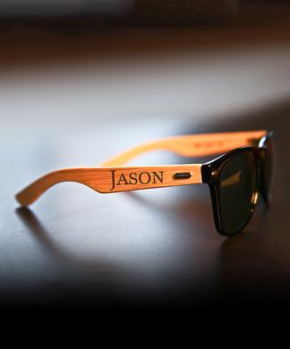 Cabany Co Sunglasses Black - Black Personalized Sunglasses