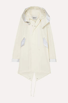 Ambush Mod Oversized Reflective Cotton-canvas Parka - White