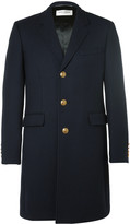 Saint Laurent - Slim-fit Wool And Silk-blend Twill Coat