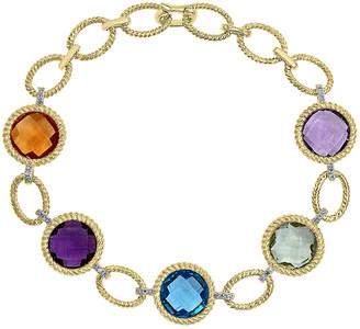 Effy 14K 21.89 Ct. Tw. Diamond & Gemstone Bracelet