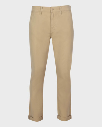 7 For All Mankind Slim Chino Pant in Tan