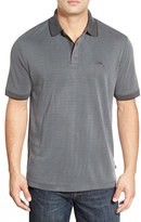 Tommy Bahama 'Ocean View' Short Sleeve Jacquard Polo (Big & Tall)