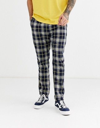Brooklyn Supply Co. Brooklyn Supply Co trousers in navy check