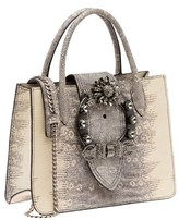 Miu Miu Women's Grey Leather Handbag.