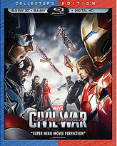 Disney Captain America: Civil War 3D Blu-ray Collector's Edition