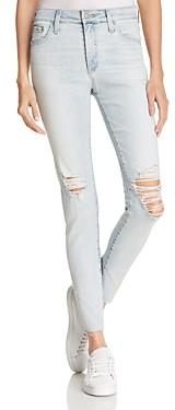 AG Jeans Farrah Skinny Ankle Jeans in 24 Years Seabird