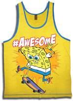 Nickelodeon Sponge Bob Squarepants Big Boys' Awesome Tank Top
