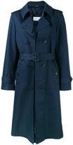Maison Margiela deconstructed trench coat - women - Cotton/Polyamide - 40