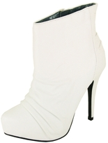 Ruched Booties