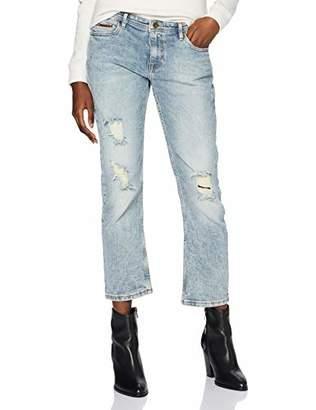 Tommy Jeans Women's Cropped Lana Straight Jeans,W28/L30