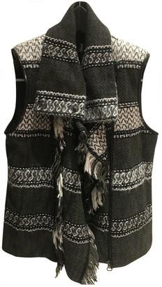 Edun Khaki Wool Jackets
