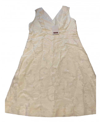 Comptoir des Cotonniers White Cotton Dress for Women