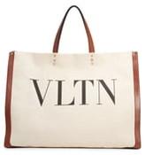 Valentino Garavani Grande Plage VLTN Logo Tote