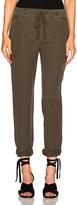 James Perse Slip Linen Trouser Pants