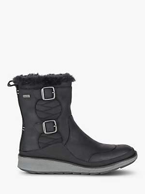 Merrell Tremblant Ezra Zip Polar Women's Waterproof Snow Boots, Black