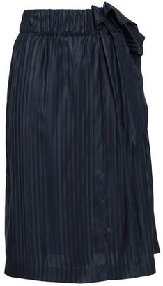 Stella McCartney Ruffled Silk-jacquard Skirt