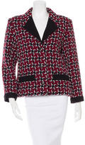 Chanel 2015 Wool Houndstooth Jacket w/ Tags