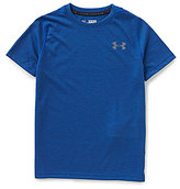 Under Armour Big Boys 8-20 Threadborne Short-Sleeve Tee