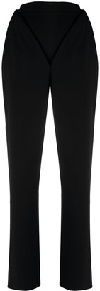 Y/Project V construction tailored trousers