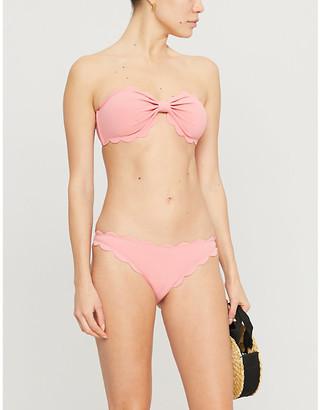 Marysia Swim Antibes scalloped bikini top