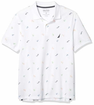 Nautica Men's Big & Tall Maritime Icon Polo Shirt
