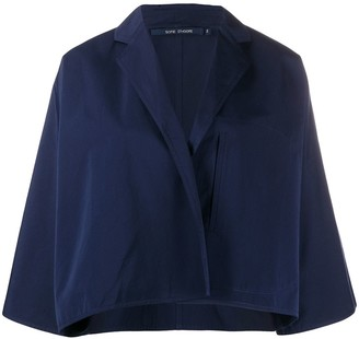Sofie D'hoore Cropped Oversized Jacket