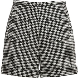 Gucci Wool Houndstooth Shorts