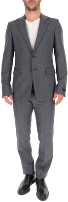 Prada Single Breasted Two-Piece Suit