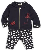 Armani Junior Baby's Two-Piece Jacket & Pants Set