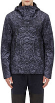 The North Face Men's Abstract-Print Tech-Faille Rain Shell-BLACK