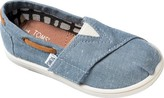 Toms Kids Chambray Boat Shoes