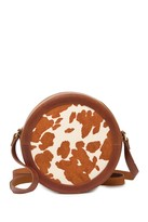 Most Wanted Design by Carlos Souza Cowhide Genuine Calf Hair Crossbody Bag