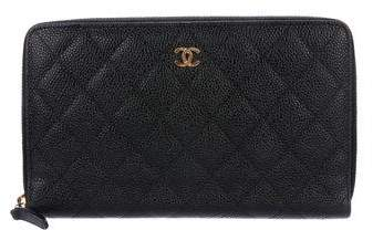 Chanel L-Large Caviar Wallet